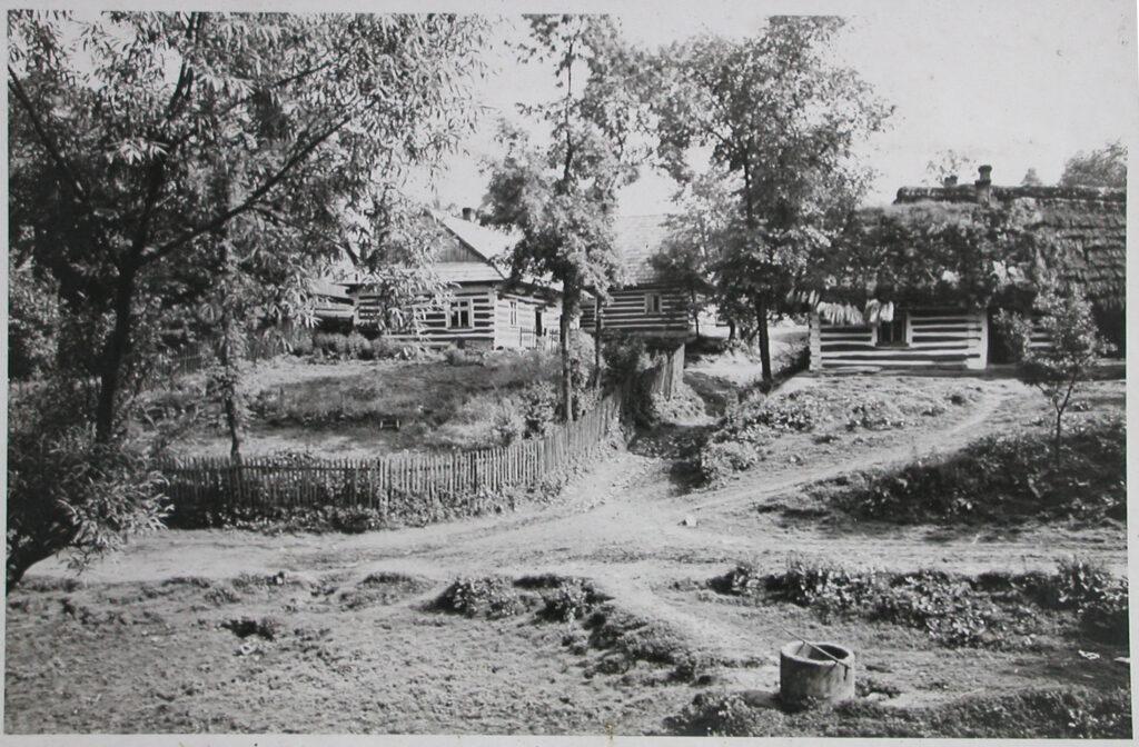 Terres correspondant à l'emplacement de la future construction de IG Farben, été 1940. Collection : Hans Citroen