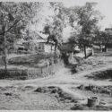 Landerijen in Monowice op de plaats van het latere bouwterrein van IG Farben, zomer 1940. Collectie: Hans Citroen