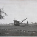 Preparations for the construction of the IG Farben industrial complex. Collection: Hans Citroen