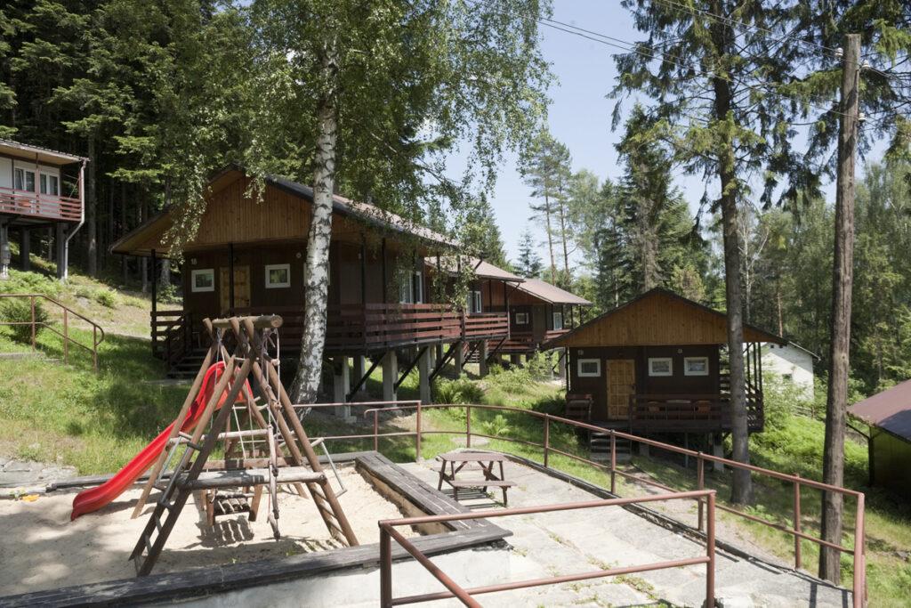 Le parc de vacances à Międzybrodzie en 2007. Collection : Hans Citroen