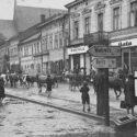 Le côté ouest de la prétendue place Adolf Hitler en 1940. Collection: Hans Citroen