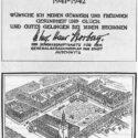 Carte de nouvel an de 1942 de l'architecte urbain Stosberg. Collection : Hans Citroen