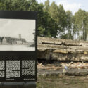 Ruines des chambres à gaz à Birkenau. Collection: Hans Citroen