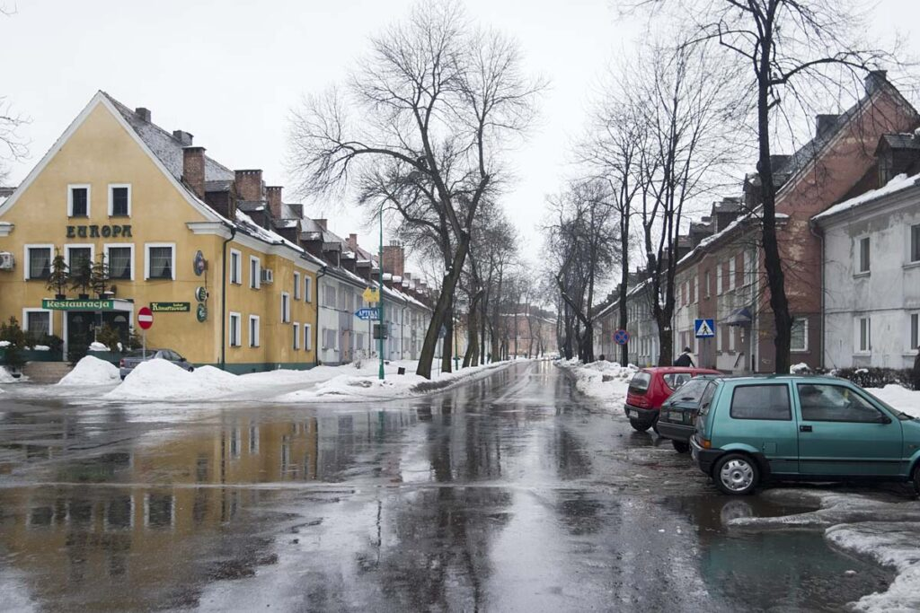 Ancien quartier résidentiel de IG Farben en 2005. Collection : Hans Citroen.